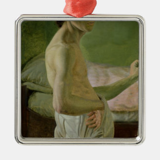 Self Portrait in front of the Easel, c.1828 Metal Ornament