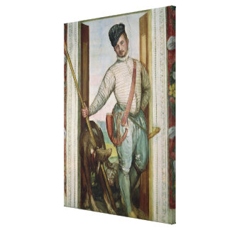Self Portrait in Hunting Costume, 1562 Canvas Print