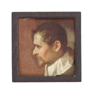 Self Portrait in Profile (oil on canvas) Gift Box