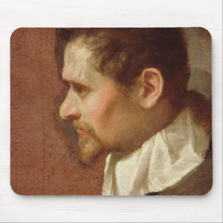 Self Portrait in Profile (oil on canvas) Mouse Pad