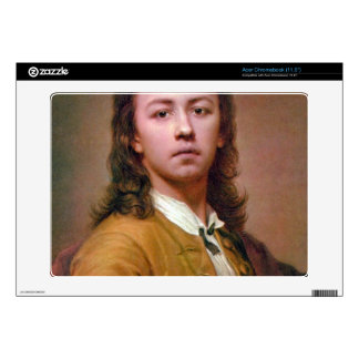 Self-portrait in red coat by Anton Raphael Mengs Decal For Acer Chromebook