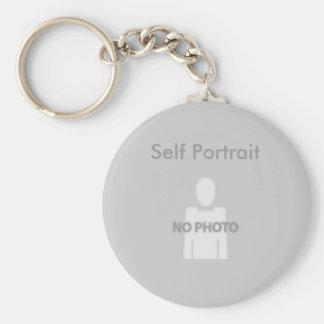 Self Portrait Keychain