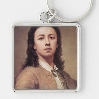 'Self Portrait' Keychain