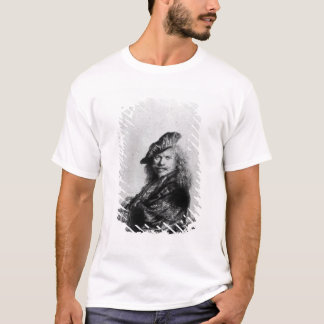 Self portrait leaning on a stone sill, 1639 T-Shirt