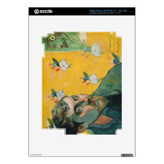 Self Portrait, Les Miserables,1888 (oil on canvas) iPad 3 Skins