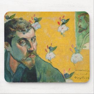 Self Portrait, Les Miserables,1888 (oil on canvas) Mouse Pad