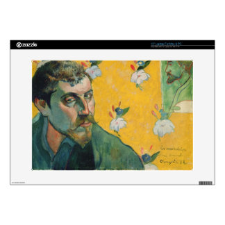 "Self Portrait, Les Miserables,1888 (oil on canvas) Skins For 15"" Laptops"