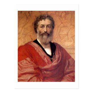 Self-portrait - Lord Frederick Leighton Postcard