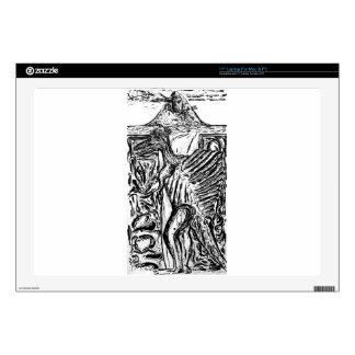 Self Portrait- Meme -Drawing-  Custom Print! Laptop Skin