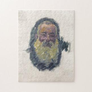 Self-Portrait Monet Fine Art Puzzle