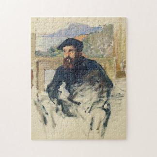 Self Portrait Monet Fine Art Puzzle