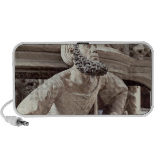 Self portrait of Adam Krafft , stone sculpture iPod Speaker