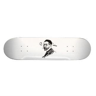 Self Portrait of Artist Carl Larsson 1891 Skateboard Deck