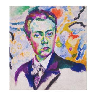 Self Portrait of Robert Delaunay Canvas Print