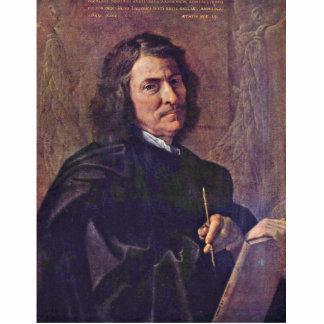 Self-Portrait Of The Artist By Poussin Nicolas Cutout