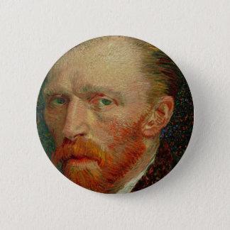 Self Portrait of Vincent Van Gogh Button