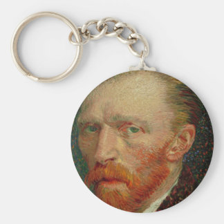 Self Portrait of Vincent Van Gogh Keychain