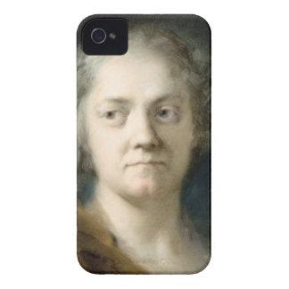 Self Portrait (oil on paper) Case-Mate iPhone 4 Case