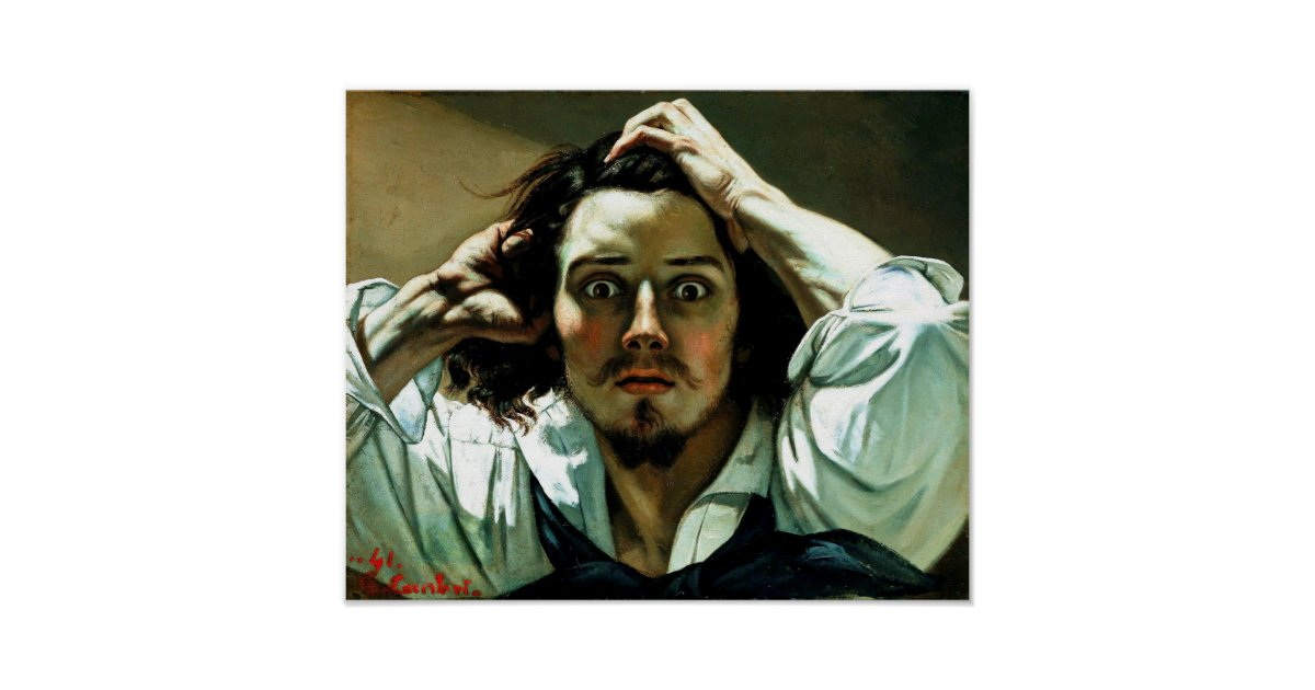 The Desparate Man / Deeply emotional, the desperate man is among the earliest works by the artist that he completed in 1845.