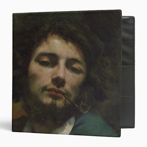 Self Portrait or, The Man with a Pipe, c.1846 Vinyl Binders