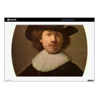Self-Portrait Oval, by Rembrandt Laptop Skins