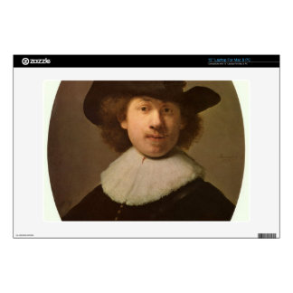 "Self-Portrait Oval, by Rembrandt Decal For 13"" Laptop"