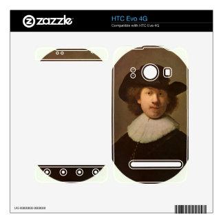 Self-Portrait Oval by Rembrandt HTC Evo 4G Skins
