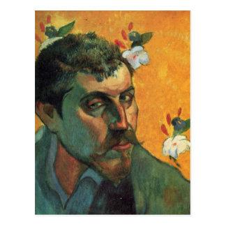 Self-portrait - Paul Gauguin Postcard