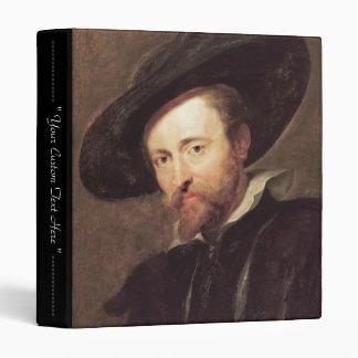 Self Portrait  Peter Paul Rubens oil painting 3 Ring Binder