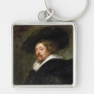 Self Portrait Peter Paul Rubens oil painting Keychain