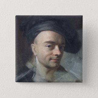 Self Portrait Pinback Button