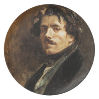 'Self Portrait' Plate