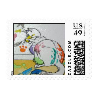 Self Portrait Postage Stamp