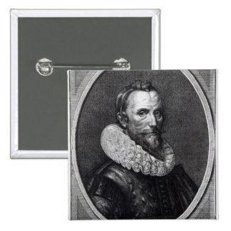 Self Portrait the Younger Gheeraerts, Button