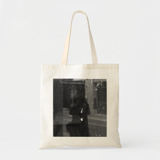 self portrait to photographer tote bag