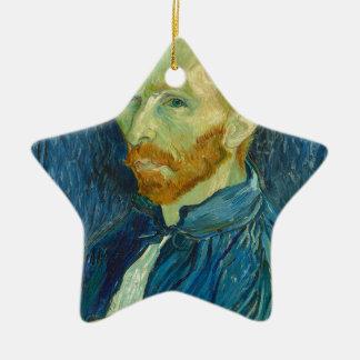 Self-Portrait, Vincent van Gogh Ceramic Ornament
