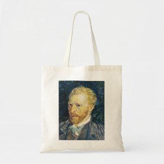 Self Portrait Vincent van Gogh fine art painting Bag