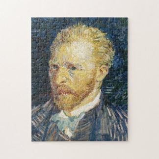 Self Portrait Vincent van Gogh fine art painting Jigsaw Puzzle