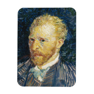 Self Portrait Vincent van Gogh fine art painting Vinyl Magnets
