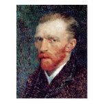 Self-Portrait, Vincent van Gogh Fine Art Postcard