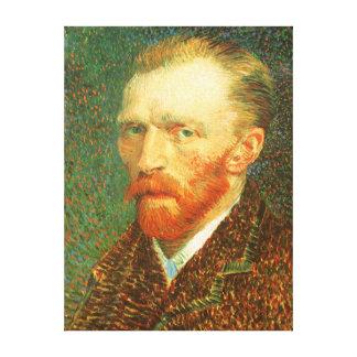 Self Portrait, Vincent van Gogh, Vintage Fine Art Canvas Print