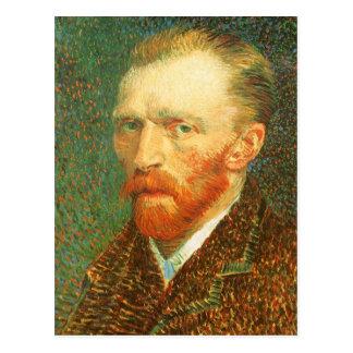 Self Portrait Vincent van Gogh Vintage Fine Art Postcards