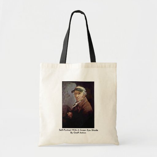 Self-Portrait With A Green Eye-Shade Budget Tote Bag