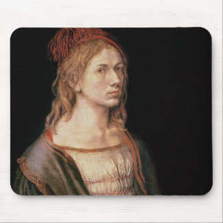 Self Portrait with a Thistle, 1493 Mouse Pad