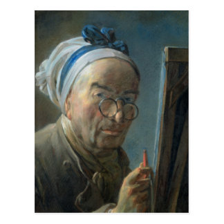 Self Portrait with an Easel, c.1775-79 Postcard
