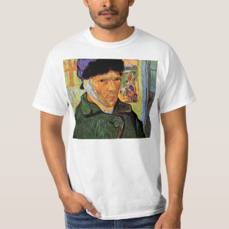 Self-Portrait with Bandaged Ear by van Gogh T-Shirt