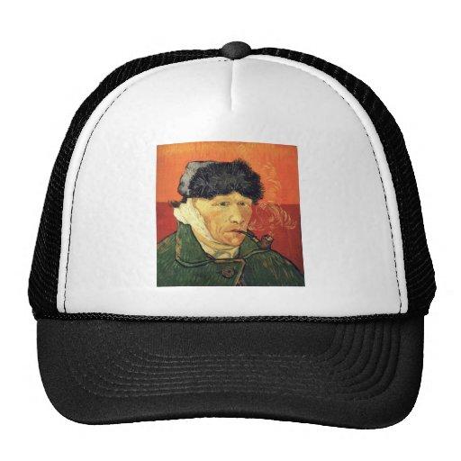 Self Portrait with Bandaged Ear - Vincent Van Gogh Hats