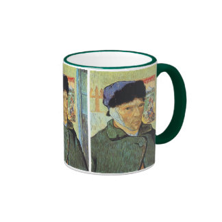 Self Portrait with Bandaged Ear; Vincent van Gogh Mugs