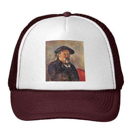 Self-Portrait With Beret By Paul Cézanne Trucker Hat