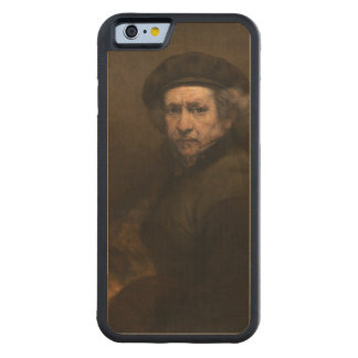 Self-Portrait with Beret by Rembrandt Carved® Maple iPhone 6 Bumper